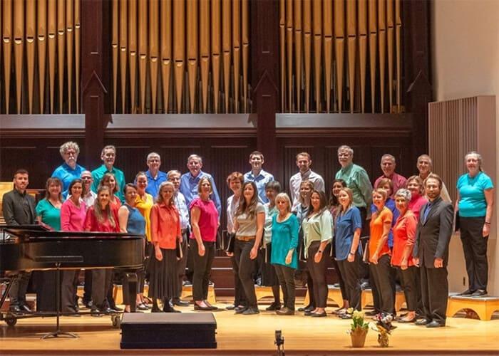 Photo of Faculty/Staff Choir