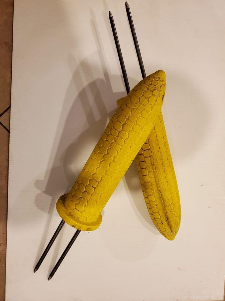Grandma's Corn Skewers
