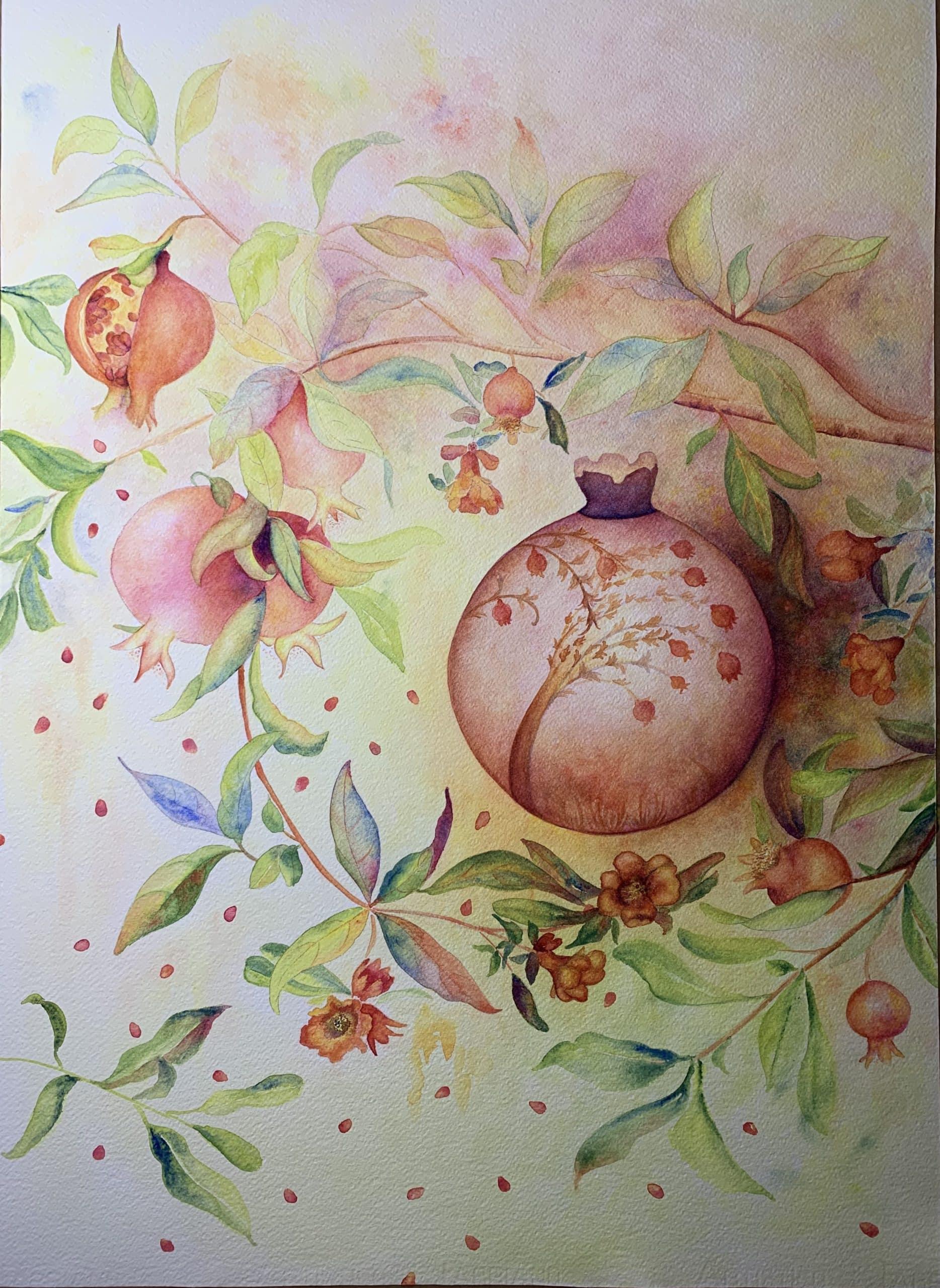 Mystical Pomegranate