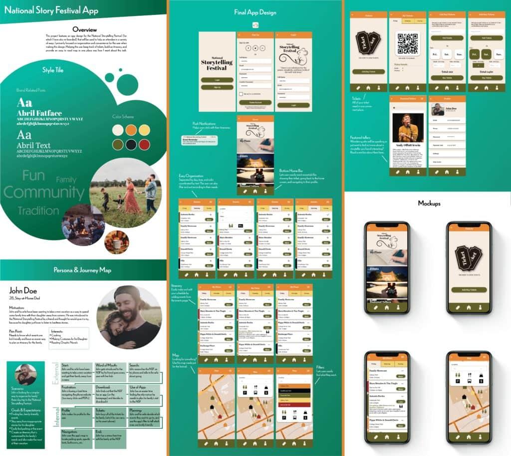 Storytelling Festival App/ Rebranding