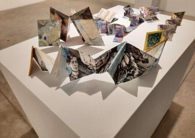 Book Art Pieces