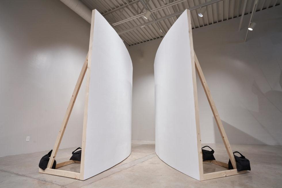 Benjamin Dearstyne Hoste - Sound Corridor Formed by Arced Walls