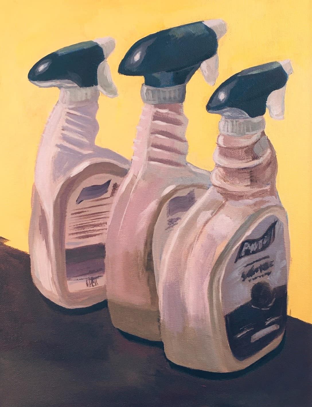 Sanitation Spray Bottles