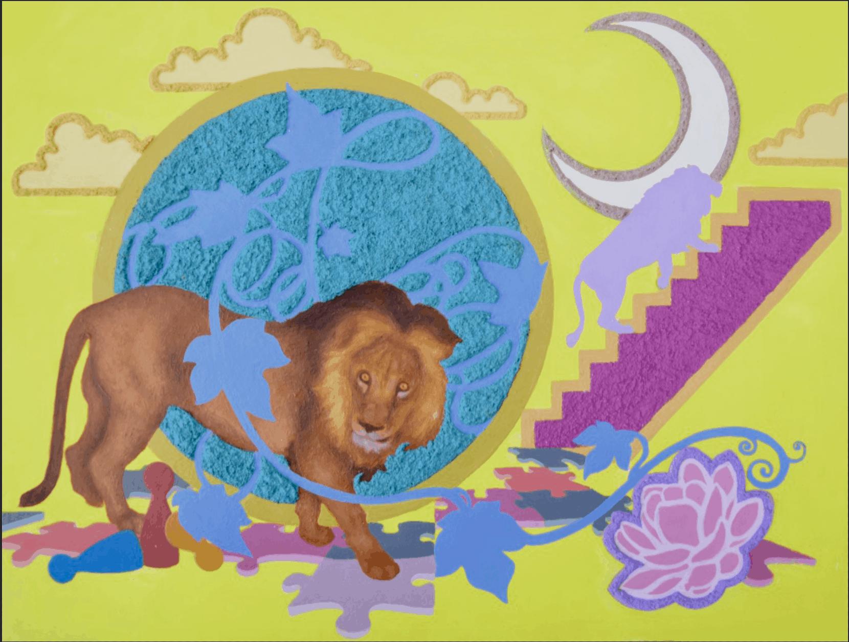Lion Entangled