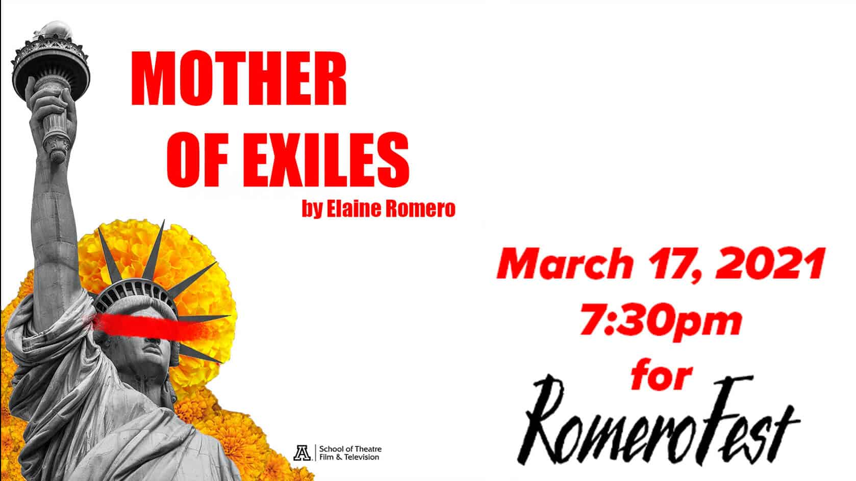 Mother of Exiles. March 17, 2021 at 7:30pm MST